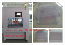 PVC,APET transparent square box folding and gluing machine