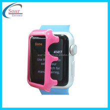 Ultra thin PC waterproof protective case for apple watch 2015 Fashion
