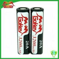 Gokey high capacity lipo battery 3200mah 3.7v 23a rechargeable battery