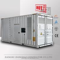 With Cummins KTA38 engine 800kw power generator set 1000kva soundproof generator