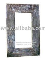 Reclaimed Teak Mirror Frame