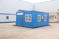 Newly Designed Container and hot sale single layermultilayer 40ft eps container house for office