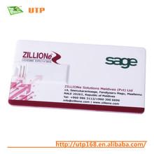 wholesale business card label usb flash drive