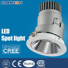 Recessed Aluminum adjustable LED spotlight 25W COB led spot lighting with CE