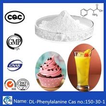 Factory supply 99% bulk powder amino acid Cas 150-30-1 DL-Phenylalanine