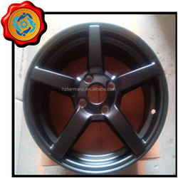 Aluminum car 18 alloy wheels & rims deep machined lip120