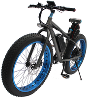 "S19-2 electric off road bike/1000W/26""x4.0 fat ebike for sale"