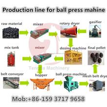 Economical and Efficient Ball Press Machine Production Line