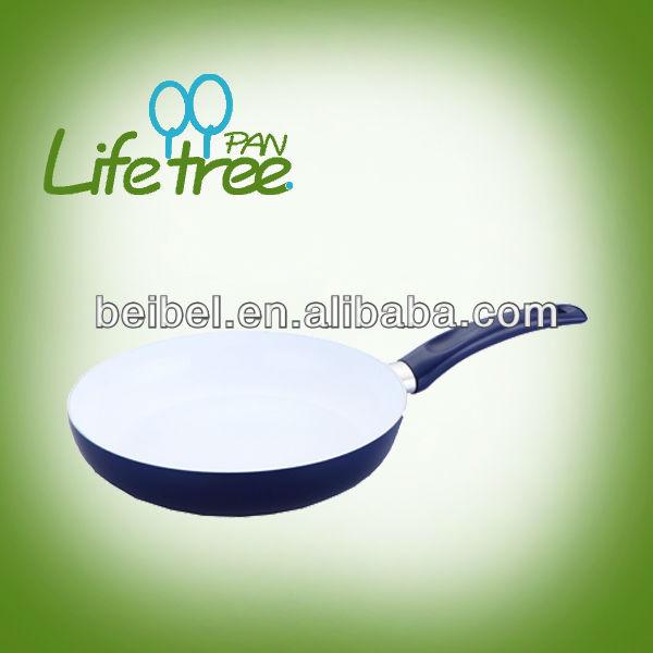 New colorful cookware aluminum ceramic frying pan