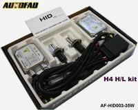 AUTOFAB - 35W 10set/ctn Headlight Bulbs Lamp Xenon HID Kit H4 H/L 3000k/4300k/6000k/8000k/10000k/12000k AF-HID003-35W