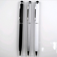 Hot sale 2-in-1 Touch Screen Stylus + Ballpoint Pen For IPad IPhone For IPod Tablet Smartphone