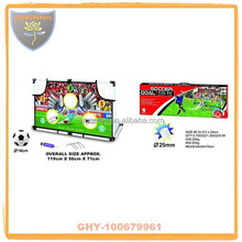 Import from china middle size soccer goal with inflatable ball for boys