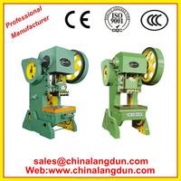 Automatic Aluminum foil cartridges production line sheet pneumatic punch press