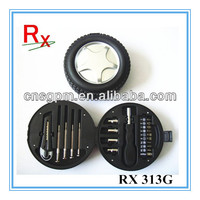 20pcs Mini Promotion Small Car wheel Tire Shape Gift Tool Kit Tool Set