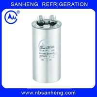 40+7.5MFD High Quality Air Conditioner CBB65 SH Capacitor
