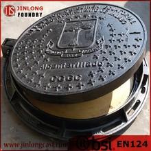en124 ductile iron manhole cover for sale foundry direct sale