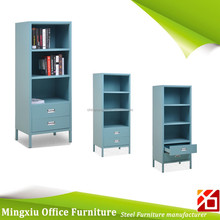 Knock down specific use steel file cabinet open shelf with leg
