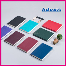 custom Promotional gifts cheap wholesales leather notebook