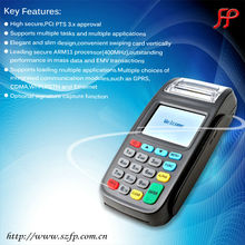 Cheap ISO8583 touch POS Terminal EMV compliant with smart card reader/MSR/IC/RFID