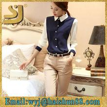 korean formal blouses design for formal blouses office for uniform long sleeve blouses