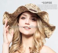 Wide brim korean fashion big summer hats beach hat