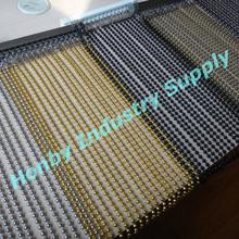 Custom Fabricated Metal Beaded Ball Chain Curtain