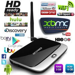 CS918 Full HD 1080P RK3188T Quad Core TV Media Player Youtube Youporn Movie Game 2GB/8GB XBMC KODI IPTV Android Smart TV Box