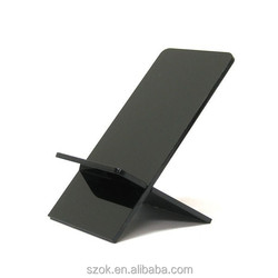 Competitive price promotional acrylic phone holder for supermaket