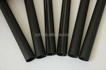 ZYH 100%Carbon Fiber Products,3K Carbon Fiber Tube CNC cutting ,custom cnc carbon fiber