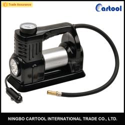 4x4/4wd/offroad 12V 150psi metal car air compressor,car inlfator with light,portable compressor