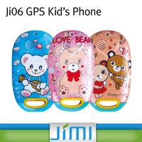 JIMI Mini Hidden Gps Tracker Kids Flip Phone With SOS Button Ji06