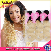 Top quality 100% brazilian human hair extension for white people