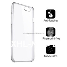 new products NUDE mobile phone ultra thin pc case with tempered screen protector for iphone 6