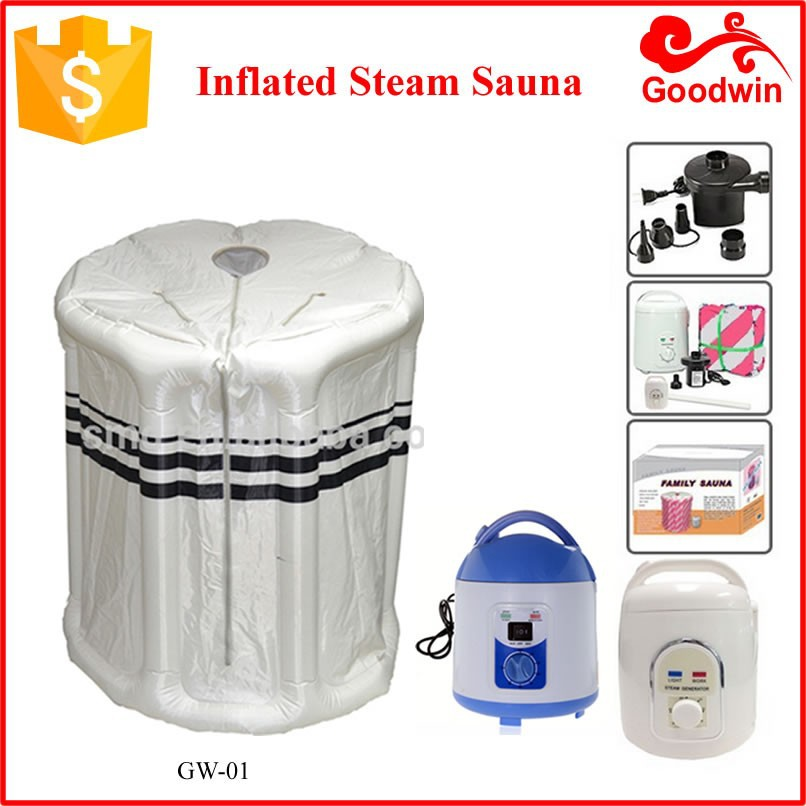 Inflatable Portable Steam Sauna With Ce,Rohs,Saso Gw-01
