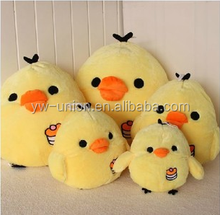 assorted size plush toy chicken shape toy , plush yellow chicken toys ,stuffed chicken plush toy