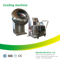 Simple system peanut chocolate coating production line