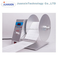 Auto label rewinder,low price label winding machine