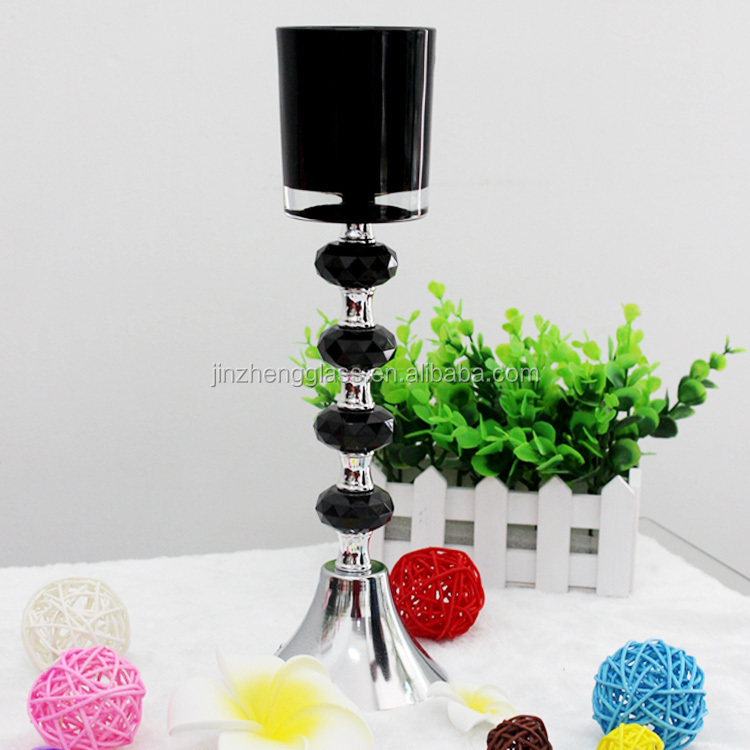 Tall glass candle holders cheap price table centrepieces for Cheap tall candlestick holders