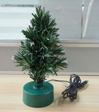 Christmas tree supplier,Holiday Living Green PVC Trees RGB mini LED Table Christmas Tree