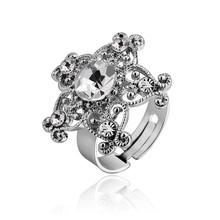 Antique crystal Gemstone Wedding Bands or Rings
