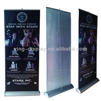 L- Banner Rollup Messedisplay tarpaulin stand 80x200cm