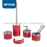Anho polishing S/S red china manufacture bathroom accessories