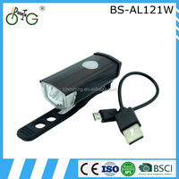 new USB rechargeable bike rear light bike led light wide bicycle wheels
