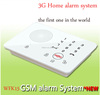Wireless Touch Keypad Alarm GSM/3G SMS Home Security alarm equips Magnetic Door Sensor,PIR motion sensor