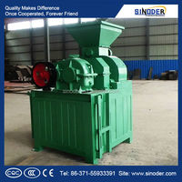 Provided environment- protected Brown Coal Ball Press Machine / coal / charcoal briquette machine with energy saving