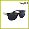 2015 New design promotion PC sunglasses plastic orange sunglasses
