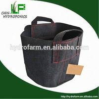 hydroponics 1,2,3,5,10,15,20,25 gallon garden plant flower fabric pot/decorative pot covers