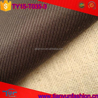 high density polyester and cotton woven plain dyed stretch heavy fabrics
