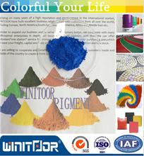 Hormigón mercancías utilizado óxido de hierro pigmento rojo / amarillo / negro / naranja