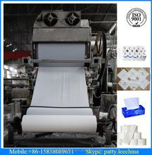 1092 de papel de seda que hace la máquina, fabricación de papel de tejido máquina de papel de lija línea de producción